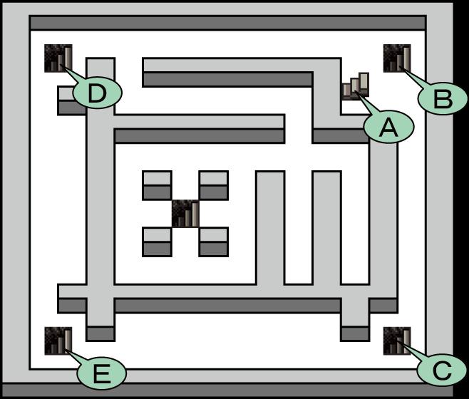 ガライの墓 地下2階