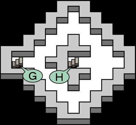 ガライの墓 地下4階