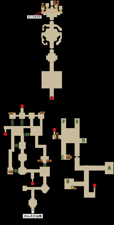 荒野の地下迷宮