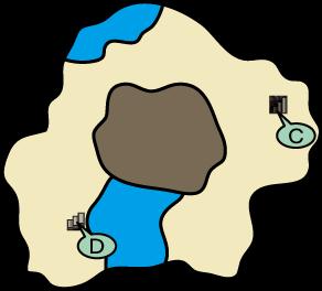 山頂への洞くつ