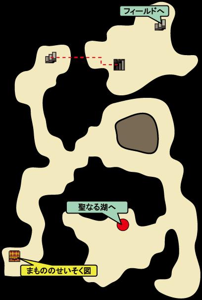サンゴの洞くつ