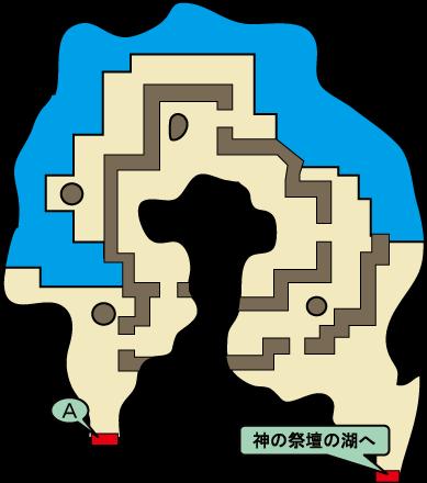 湖の洞くつ