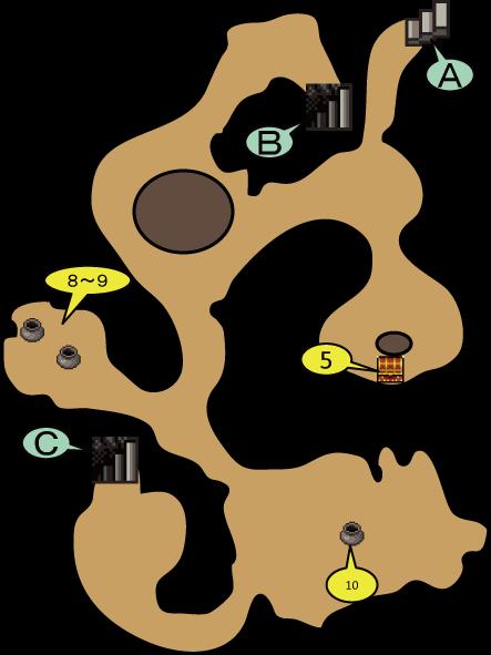 薬草園の洞窟