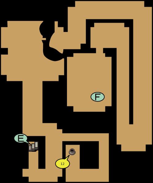 剣士像の洞窟