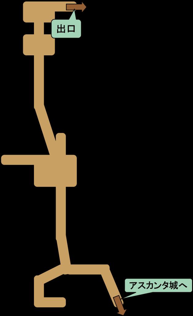 アスカンタ城地下
